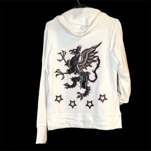 Lovestitch Hoodie Dragon Appliqué size L